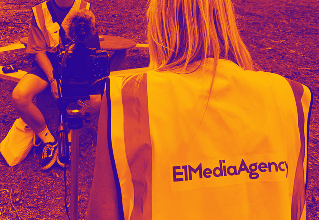 E1 Media Agency team collecting content at Noisily Festival 2019